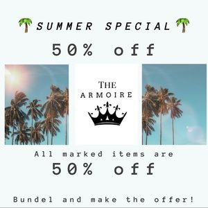 Tops - 50% all 🌴SUMMER SPECIAL🌴 items marked